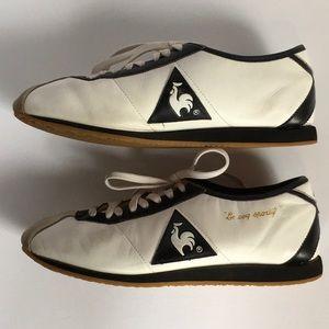 Le Coq Sportif leather walking shoe size 8